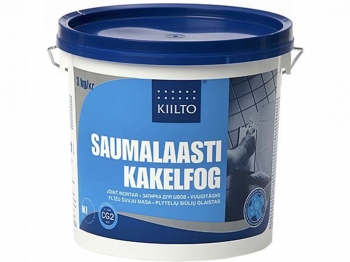 Затирка для плитки КIILTO 44 темно-серая 3кг SAUMALAASTI