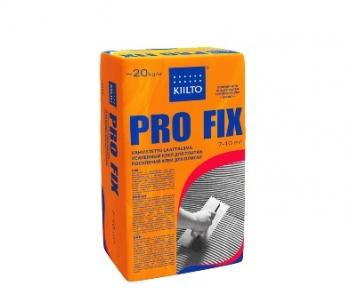 Усиленный клей для плитки и керамогранита KIILTO PRO FIX