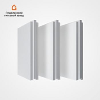 Пазогребневые плиты 80 мм полнотелые Стандартная
