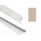 Угол для кафеля светло-бежевый наружный 8х2500мм