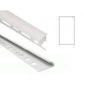 Угол для кафеля белый наружный 8х2500мм