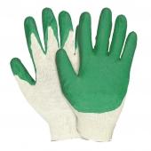Перчатки х/б с одинарной обливкой латексом