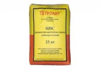 Цементно-песчаная смесь Петролит ЦПС М-150