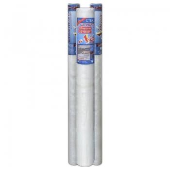 Сетка штукатурная стеклотканевая, ячейка 5*5 мм, 1*20 метров