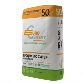 Цемент Евроцемент М500 Д0 ЦЕМ I 42,5Н 50кг