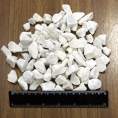 "Мраморная крошка белая, фр. 10-20, мешок 50 кг., пр- во ""Коелгамрамор"""