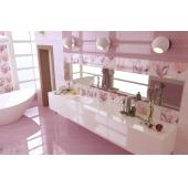 Flora розовый 200х500х8.5